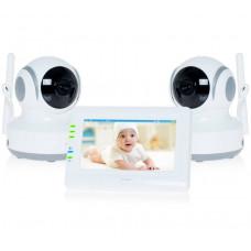 Видеоняня с двумя камерами Ramili Baby RV900X2