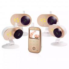 Видеоняня с 4 камерами Ramili Baby RV1200X4