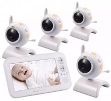 Видеоняня с 4 камерами Switel BCF930Quadro